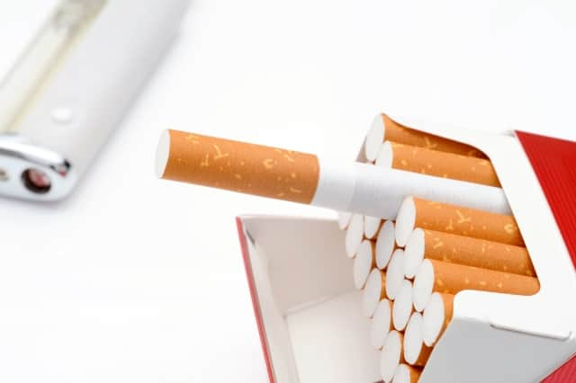 誤飲すると中毒を起こすタバコ